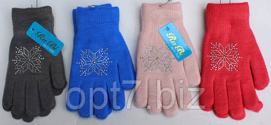 Перчатки женские двойные норма 7-8 (12 пар), фото 2