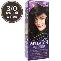 Wellaton Краска для волос №03/0 Темный шатен (крем-краска, стойкий насыщенный цвет)