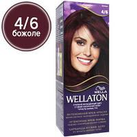 Wellaton Краска для волос №04/6 Божоле (крем-краска, стойкий насыщенный цвет)