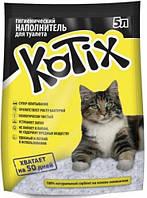 Kotix 5 л (2,2 кг)  - Силикагелевый наполнитель для кошачьего туалета