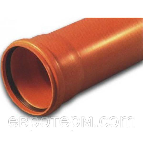 Труба ПВХ для наружной канализации Ф250*4.9 2000 мм SN2 Мпласт