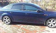 Дефлекторы окон Ford Mondeo IV Sd 2007-2013 (Форд Мондео 4) Cobra Tuning