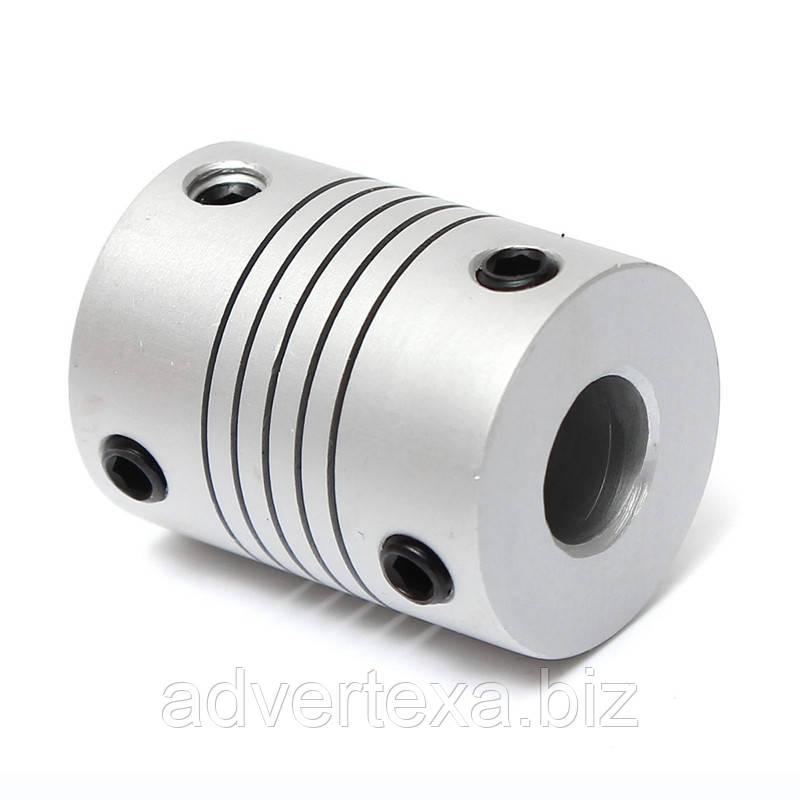 Муфта гибкая 8X8 мм. для ЧПУ, CNC, 3D принтера.