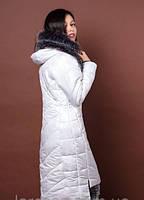 Женское молодежное зимнее пальто