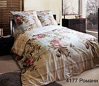 Постельное белье Романи, белорусская бязь 100%хлопок - семейный комплект