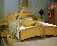 Спальня из натурального ротанга