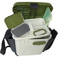 Ящик зимний с накладными карманами (пластиковый)