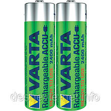 Аккумулятор VARTA RECHARGEABLE AA 2400 mAh Ready2Use