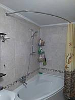 Карнизы для ванной комнаты из нержавеющей стали