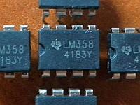LM358 DIP8 - двойной операционный усилитель, фото 1