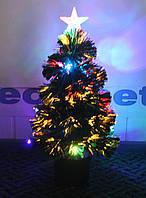 Светящаяся светодиодная оптоволоконная елка 60 см svd60