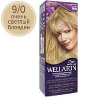 Wellaton Краска для волос №09/0 Очень светлый блондин (крем-краска, стойкий насыщенный цвет)