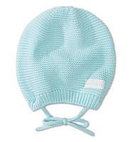 Детская вязаная шапочка  6-9 месяцев