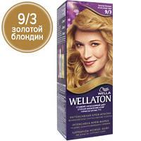 Wellaton Краска для волос №09/3 Золотой блондин (крем-краска, стойкий насыщенный цвет)