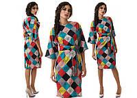 Женское стильное платье-кимоно (4 цвета)