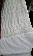 Покрывало на кровать меховое Норка 200х230 цвет белый, фото 1