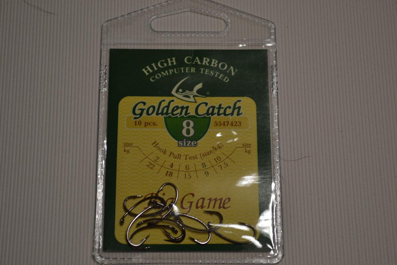 Крючки GOLDEN CATCH  8