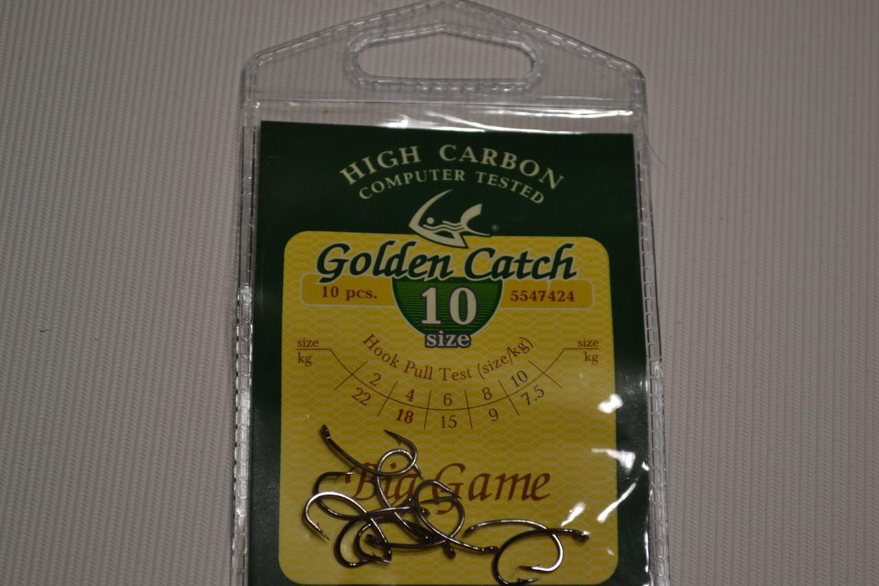 Крючки GOLDEN CATCH  10