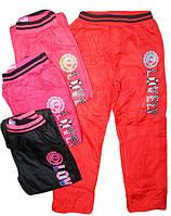 Балоневые брюки на флисе для девочек, размеры 158, арт. HZ-3475