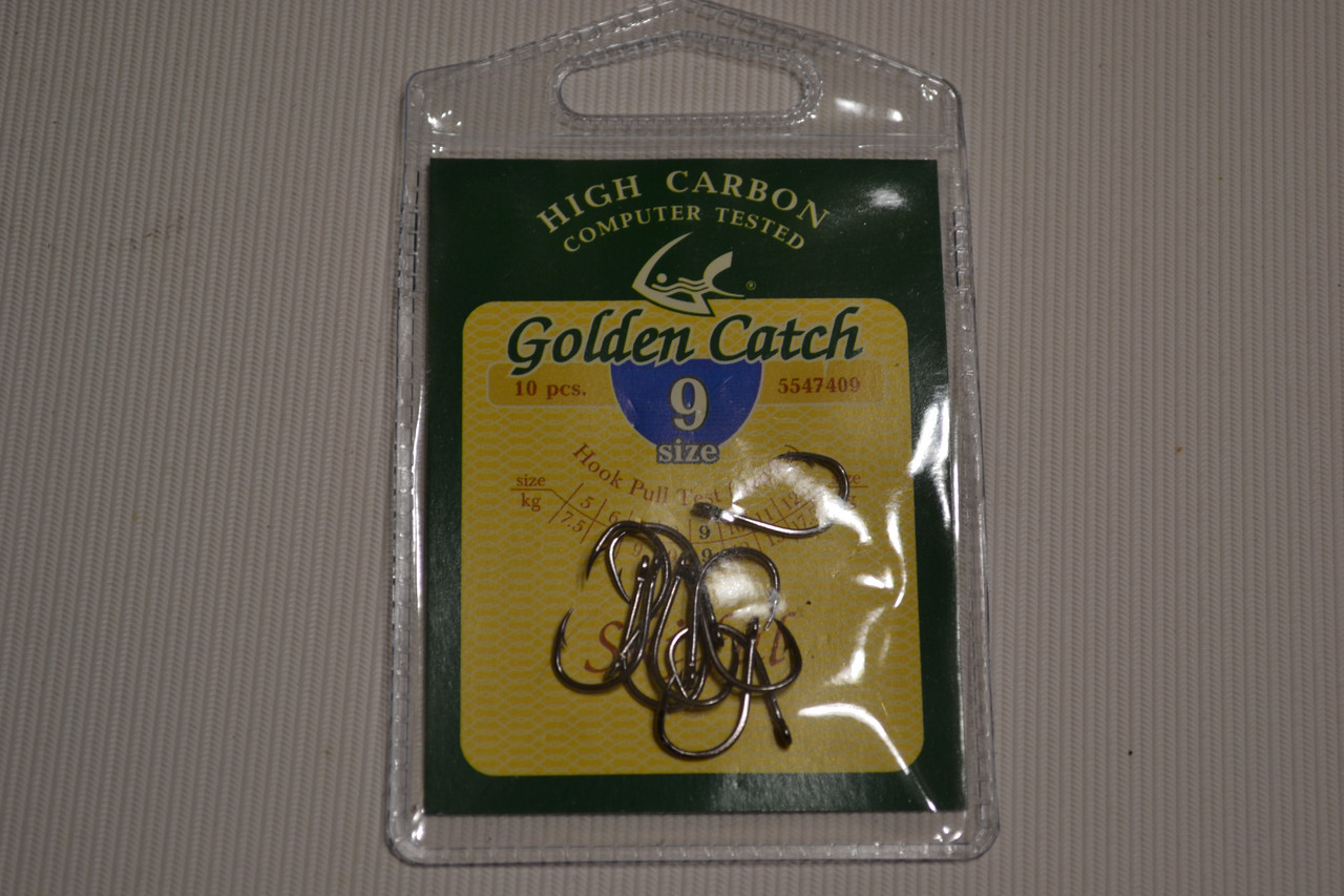 Крючки GOLDEN CATCH 9