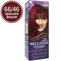 Wellaton Краска для волос №66/46 Красная вишня (крем-краска, стойкий насыщенный цвет)