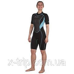 Гидрокостюм для плавания Marlin Tropic Shorty Lady 3 мм