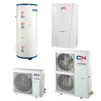 Тепловий насос повітря-вода GRS-CQ8.0Pb/ Na-K