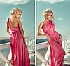 Вечернее Платье-трансформер розовый коралл 15 в 1 - Фото