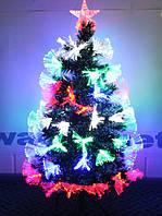 Светящиеся новогодние красавицы елочки