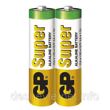 Батарейка AA GP Super Alkaline battery GP15AEBC, фото 2