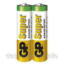 Батарейка AA GP Super Alkaline battery GP15AEBC