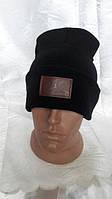 Качественная мужская двойная шапка