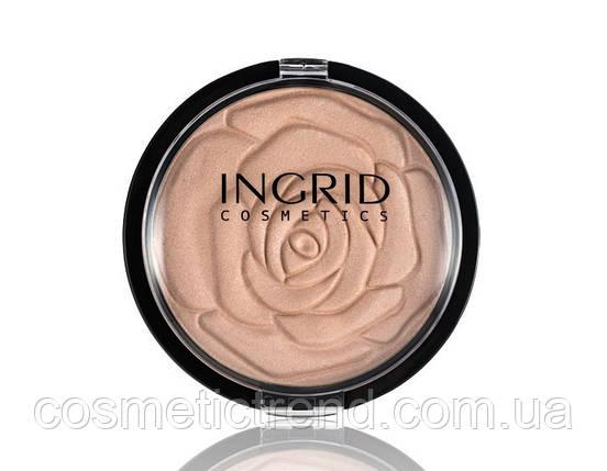 Хайлайтер-пудра искристая для лица Ingrid Cosmetics Shimmer Powder HD Beauty Innovation 25 gr, фото 2