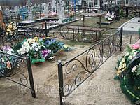 Оградка на кладбище кованая арт.рт 15