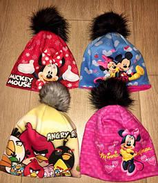 Детские шапки, шарфы, комплекты .