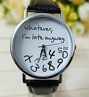 Часы Whatever (black)