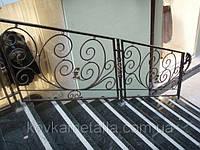 Кованые лестничные периле арт.кп 28