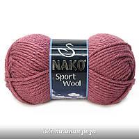 Nako Sport Wool - 327 пыльная роза