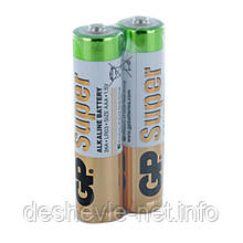 Батарейка AAA GP Super Alkaline battery GP24AEBC