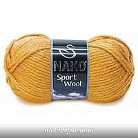 Nako Sport Wool - 10129 горчичный