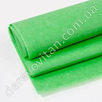 Бумага тишью зеленая, 100 листов, 50 на 75 см