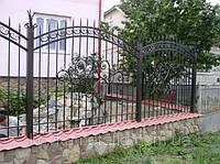 Кованый забор арт.26