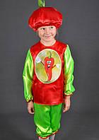 Детский костюм Перец острый для детей 3,4,5,6 лет. Карнавальный маскарадный костюм для детей