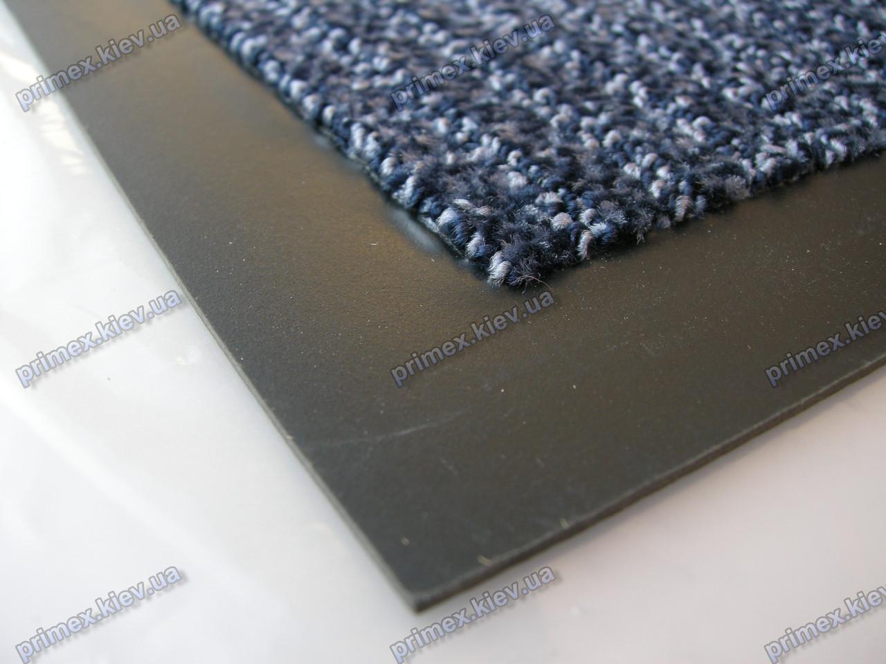 Коврик грязезащитный Премиум петля 60х90см., синий