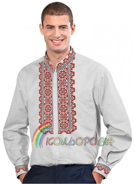 Заготовки для мужских сорочек тм КОЛЬОРОВА