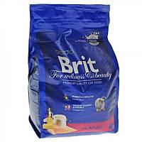 Brit Premium Cat Adult Salmon 8кg  для взрослых с лососем