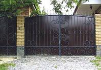 Кованые ворота арт.в 22, фото 1