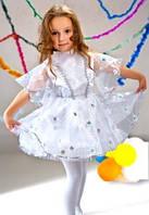 Нарядное новогоднее платье Снежинки