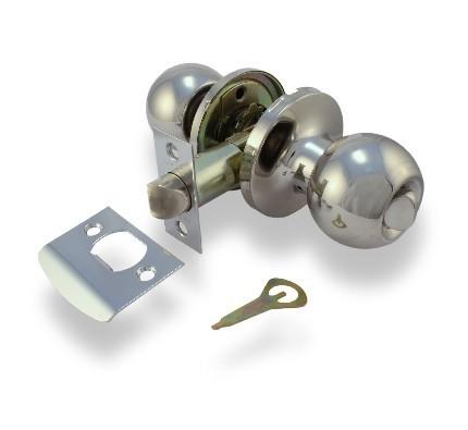 Ручка защелка Apecs 6072-03 CR с фиксатором (Хром)
