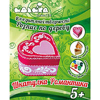 "Набор для Росписи по дереву ""Шкатулка ""Романтика"" Идейка"